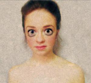 Brooke Dominguez ('17), Photograph illustrating Sumerian visual characteristics