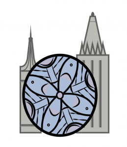 Amber Mills, ('14) logo for Gothic architecture