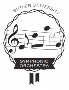Symphonic Orchestra Logo, created by Abbi Miles ('16).