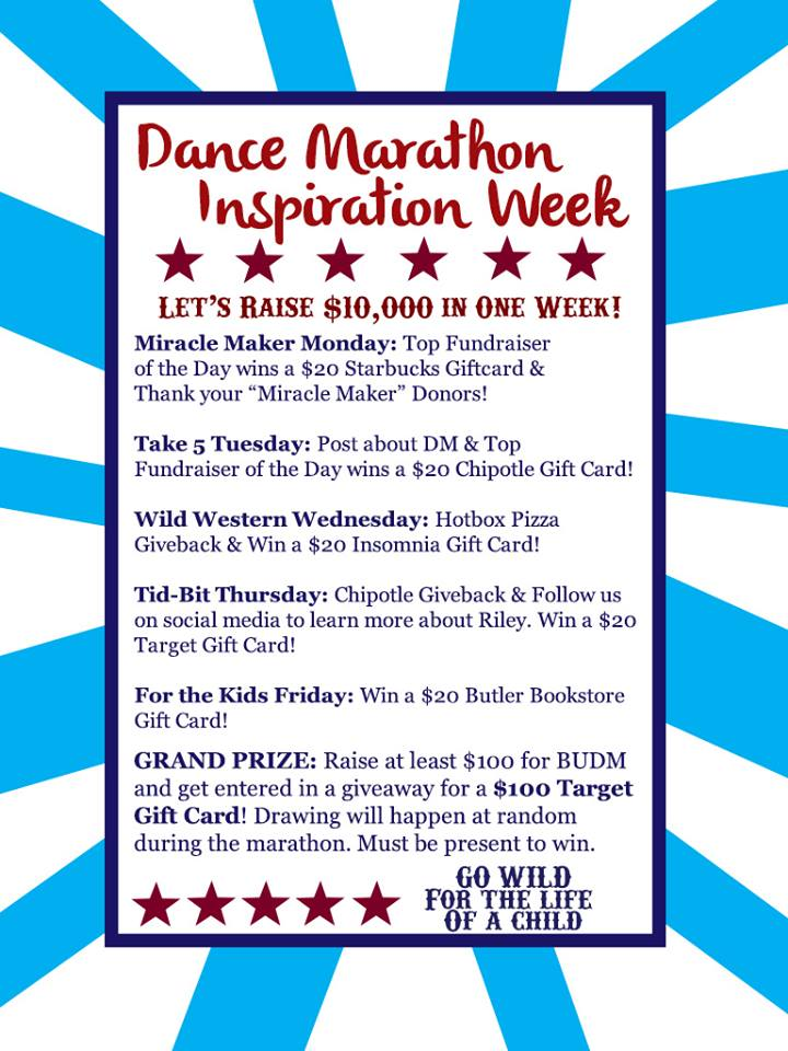 INSPIRATION WEEK EVENTS