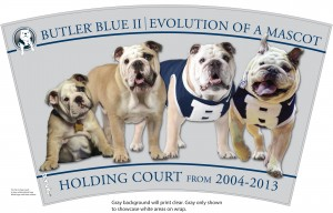 Butler Evolution of a Mascot