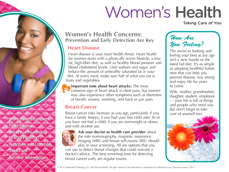 Womens Health Guide