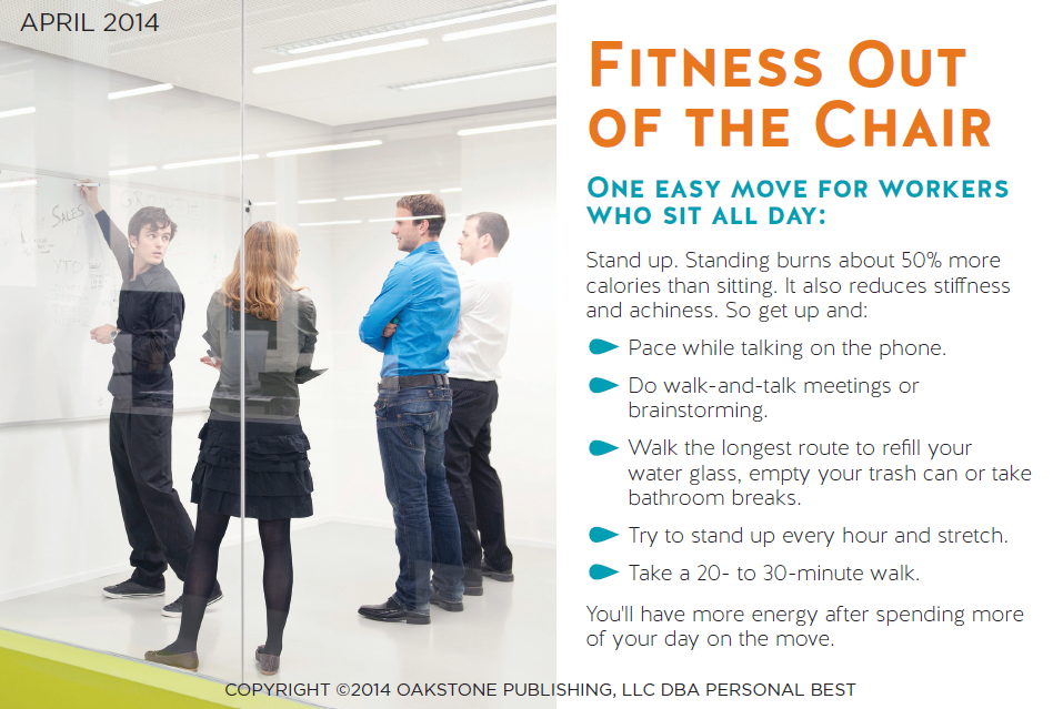 2014 Fitness Out of the chair