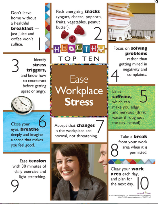 ease workplace stress