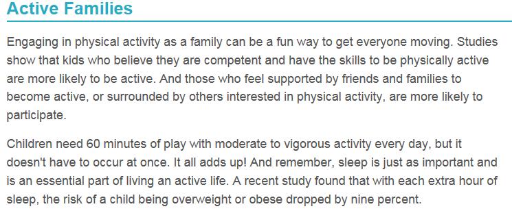 Active Families Intro