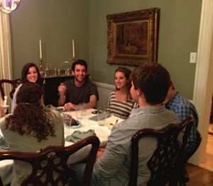 Rosh Hashana at Nonie's house