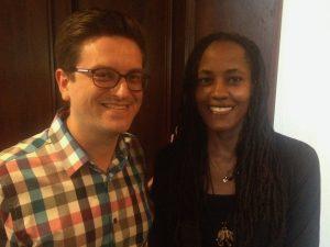 Poetry MFA alum Allyson Horton and esteemed MFA blogger emeritus Chris Speckman