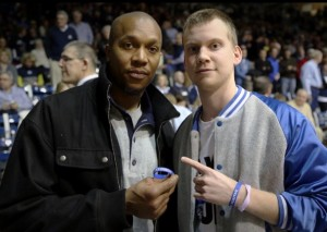 Indiana Pacers basketball player, David West.