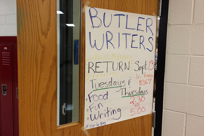 butler writers sign
