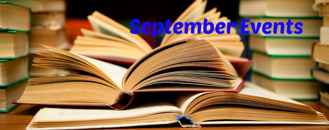 September Literary Events